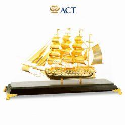 Mô hình thuyền buồm phong thủy 43 size L